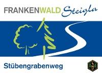 Markierungszeichen FrankenwaldSteigla Stübengrabenweg