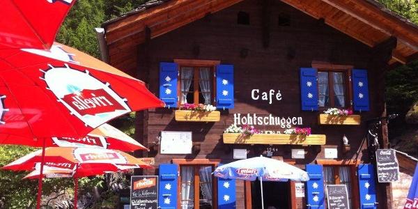 Aussensansicht Restaurant Hohtschuggu
