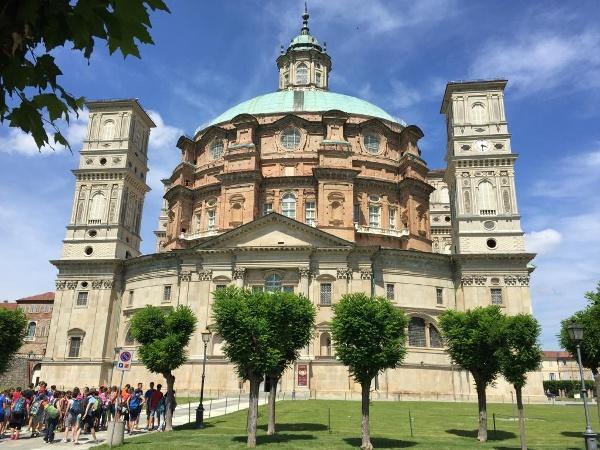 Barockkirche und Marienheiligtum: Santuario di Vicoforte