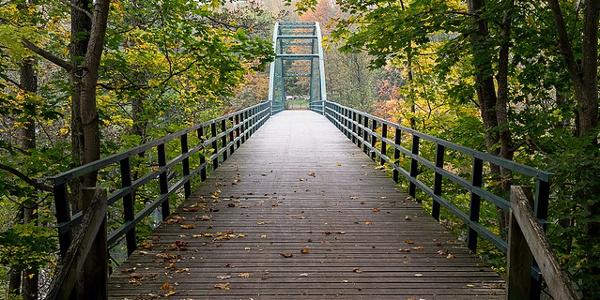 Bron övver Motala ström