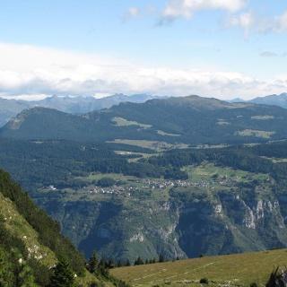 Veduta panoramica sull'altopiano di Luserna