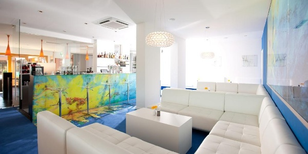 Flower-Lounge im Thermalhotel Leitner