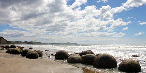 The Moeraki Boulders