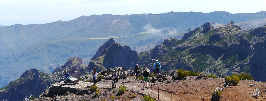 Aussichtsplattform auf dem Pico Ruivo