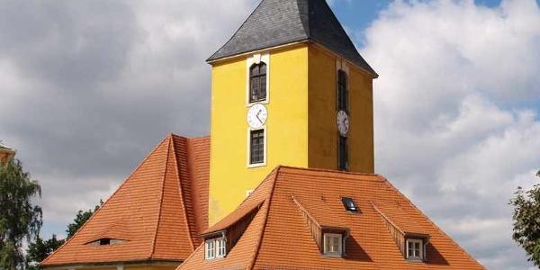 Die Stadtkirche von Hohnstein.