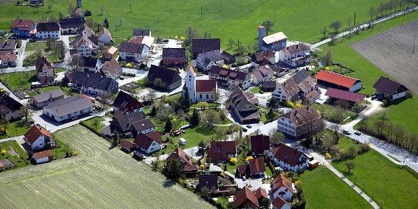 Luftbild Billafingen