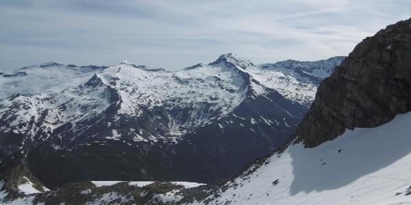 Petereck 2893m und großer Hafner 3076m