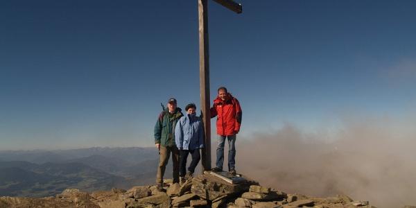 Zirbitzkogel Gipfelkreuz