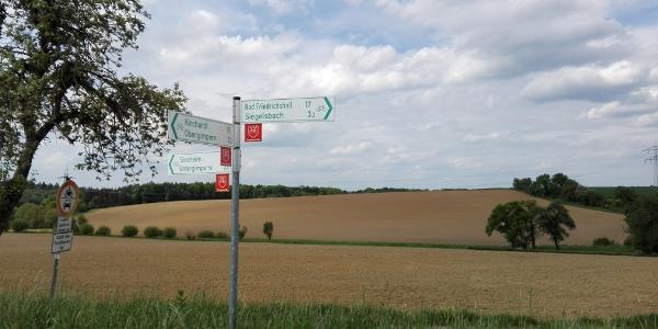 Wegekreiz bei Wagenbach