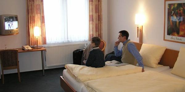 Doppelzimmer im Hotel Hollmann