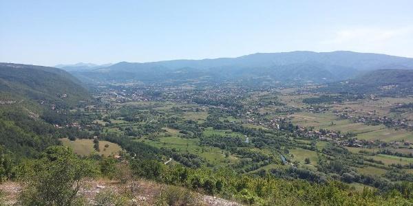 View on Drvar