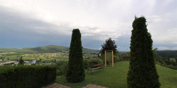 Ausblick von der Lindenkapelle
