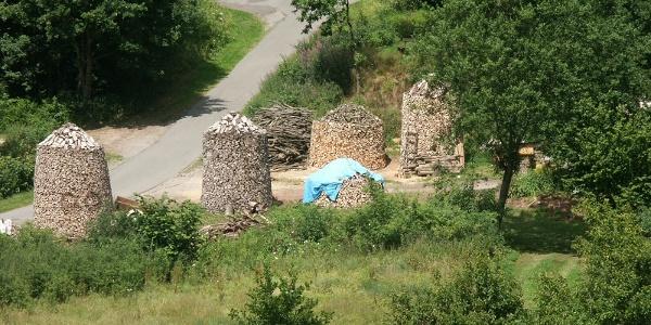 Holzfinnen in Schwalenberg