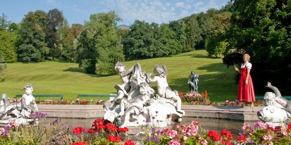 Kaiserpark Brunnen, Bad Ischl