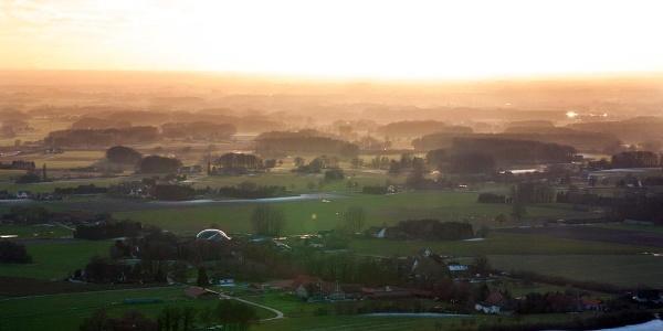 Ausblick in die Münsterländer Parklandschaft