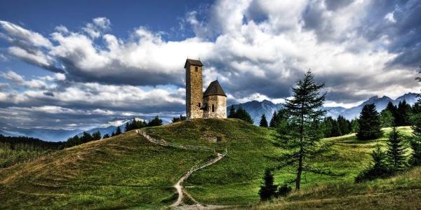 Primo giorno - la chiesetta San Vigilio