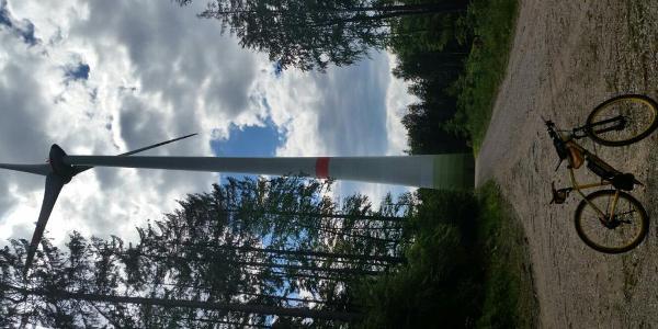Windrad bei Unterlichtenwald