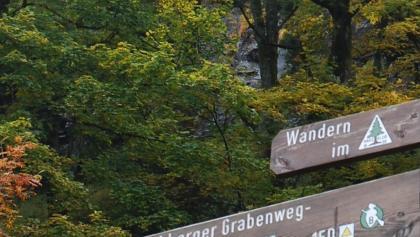 Schild am Rehberger Graben