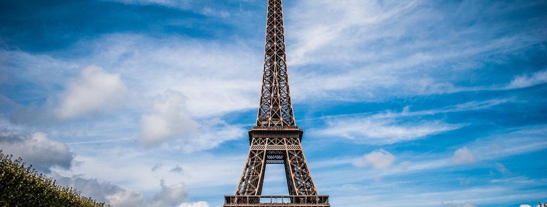 Das Wahrzeichen Paris: der Eiffelturm