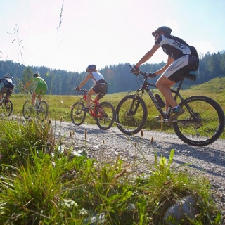 Mountainbiken im Brandnertal
