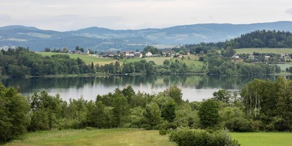 Blick auf den Längsee