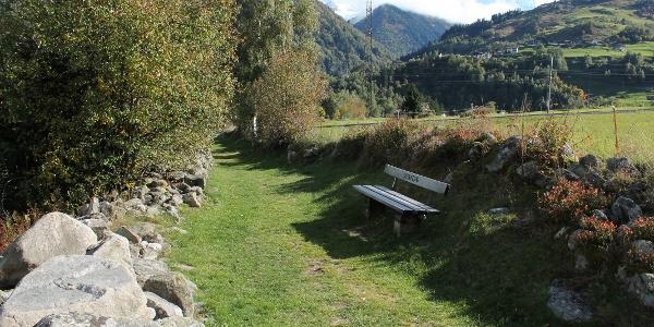 steingesäumter Weg mit Mompé Medel