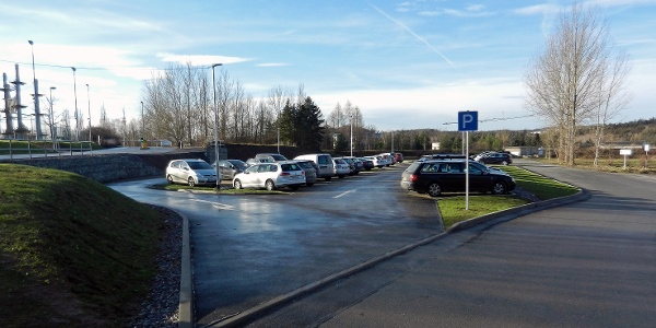 Wanderparkplatz am Bio-Seehotel
