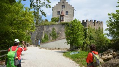An der Burg Gößweinstein