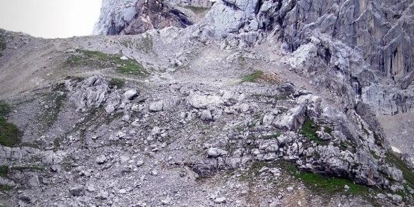 Rückblick zur spektakulären Meilerhütte (07.08.2012)