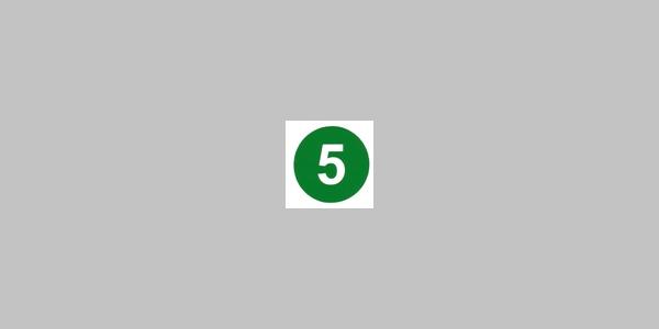 Kennzeichnung Rundwanderweg Nr. 5