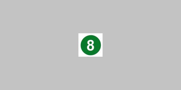 Kennzeichnung Rundwanderweg Nr. 8