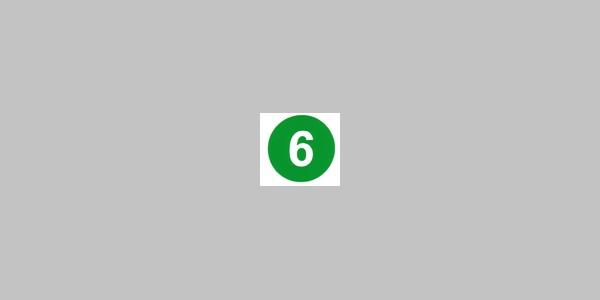 Kennzeichnung Rundwanderweg Selbach Nr. 6
