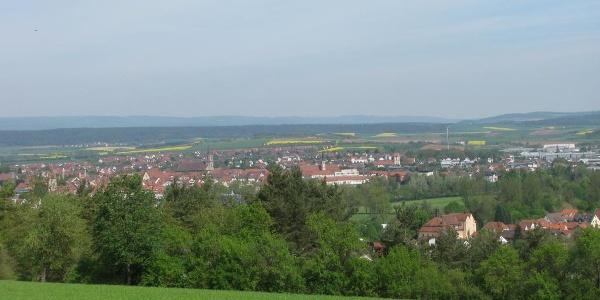 Via Romea Bad Neustadt Munnerstadt 32 Pilgrim Trail