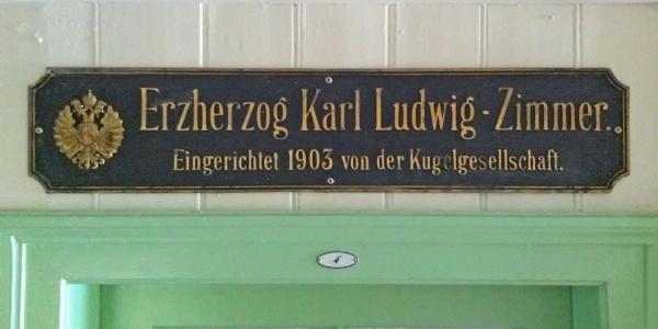 Erzherzog Karl-Ludwig-Zimmer anno 1903