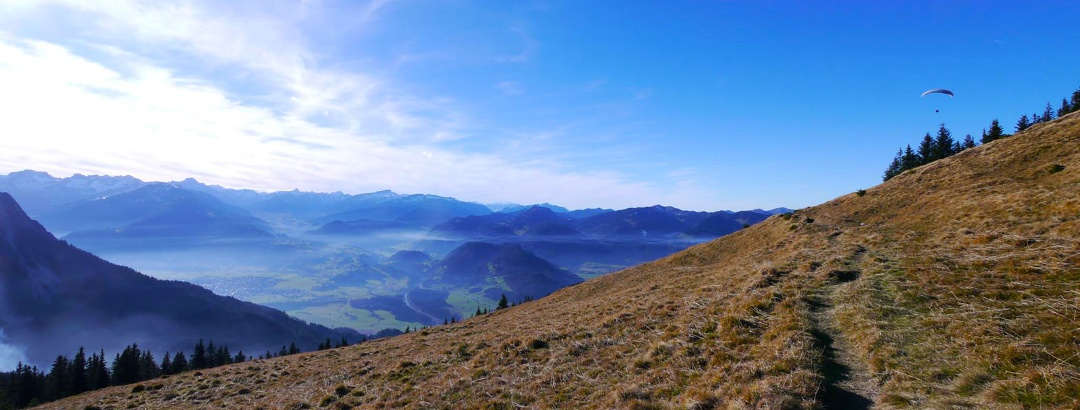 Wandern für Langschläfer im Oberallgäu