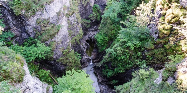 Mountainbiketour - Ins Eschenlainetal - Die Asamklamm