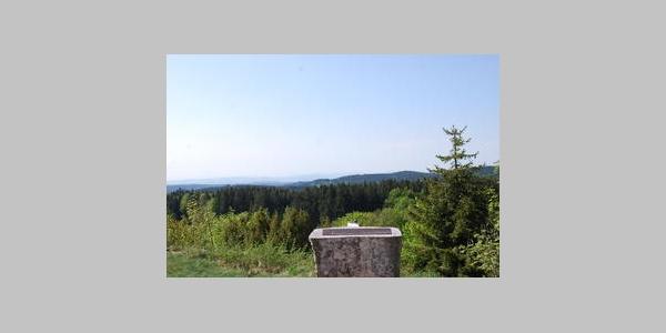 Alpenpanoramatafel bei Dachsberg-Horbach