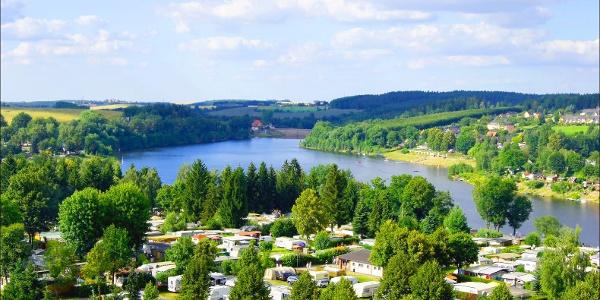 Blick von Paulsdorf nach Malter