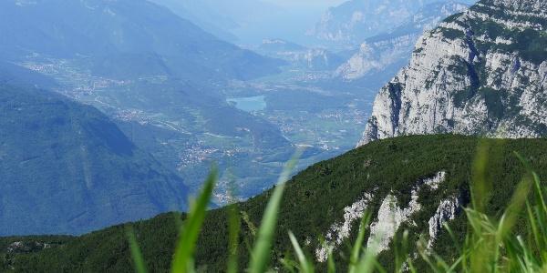 La valle dei Laghi e il Garda