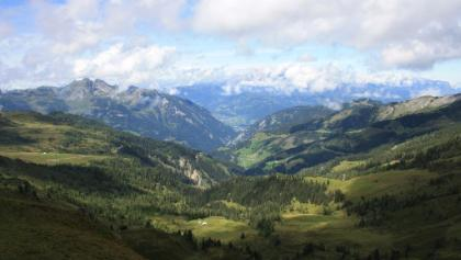toller Ausblick vom Gründegg ins Tal