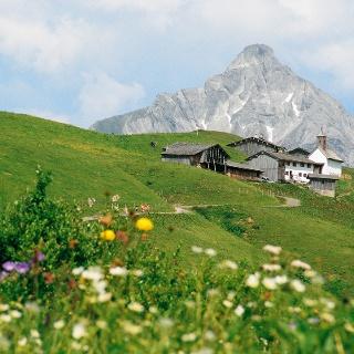Walsersiedlung Bürstegg bei Lech