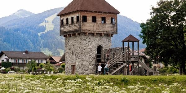 Ritterspielplatz in Pfronten