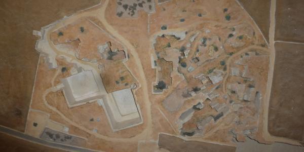 Drei-D-Modell der Steinbrüche