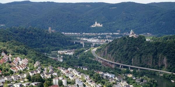 Lahneck, Stolzenfels und Allerheiligenberg