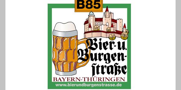 Logo Bier- und Burgenstraße
