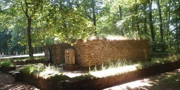 Römische Tempelanlage bei Pesch