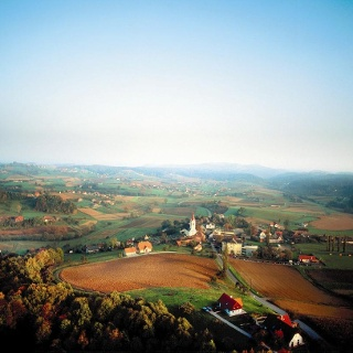 Luftbild St. Nikolai im Sausal
