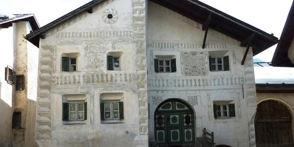 Das Schellen-Ursli-Haus in Guarda