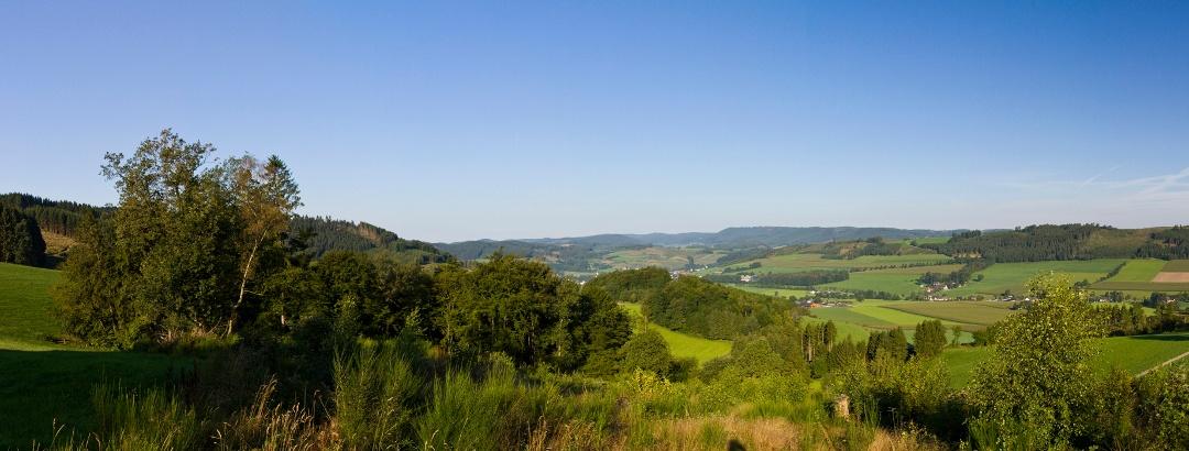 Panorama bei Reiste