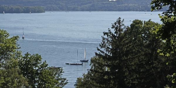 Schöner Ausblick auf den Bodensee